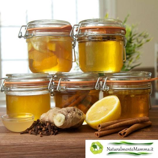 5 Infusi al miele - Con Logo Naturalmente Mamma