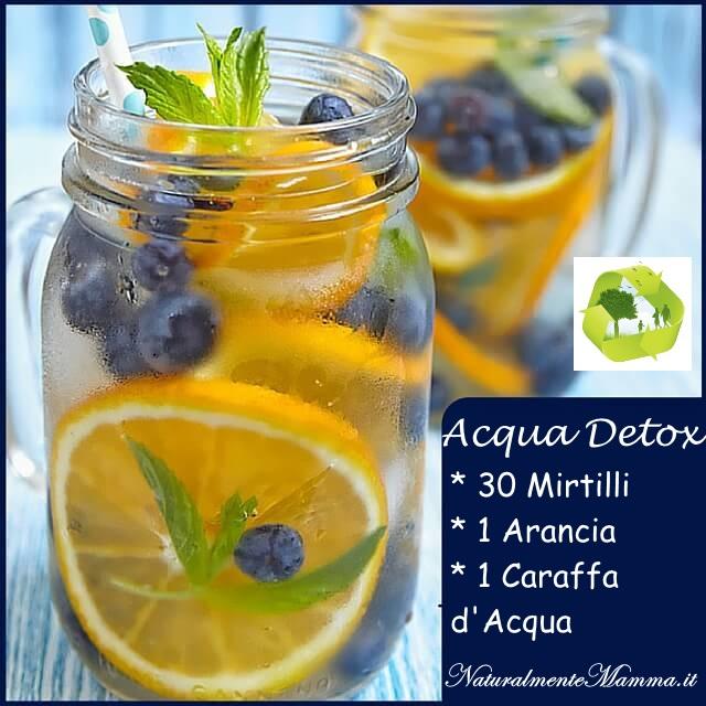 Acqua Detox Mirtilli Arancia