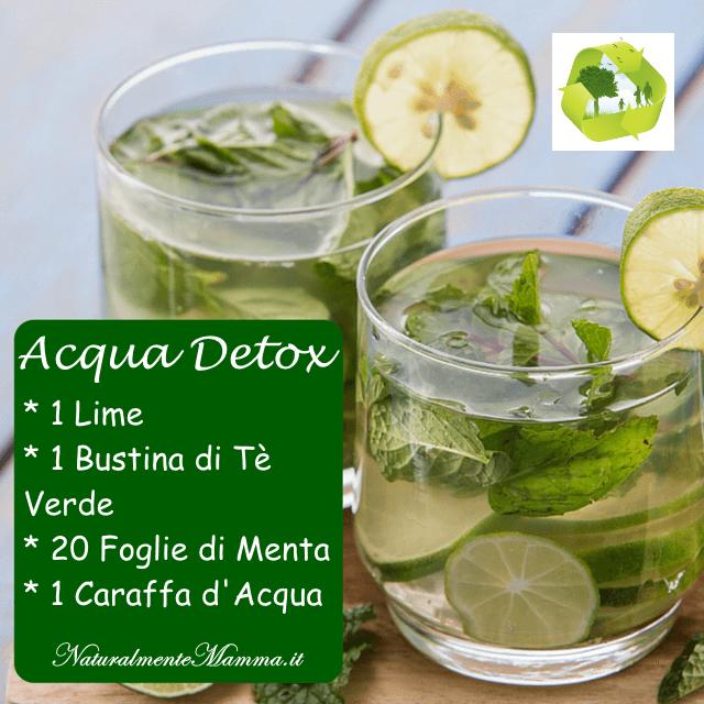 Acqua Detox Tè Verde Lime Menta