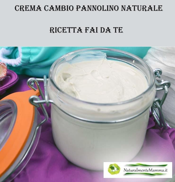 Crema cambio pannolino naturale