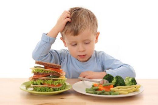 frutta e verdura bambini